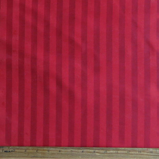 Water Change Red Stripe Microfiber Boardshort Fabric