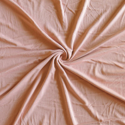 Whispering Peach Bamboo Lycra Jersey Knit Fabric