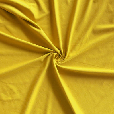 Yellow Oxide Bamboo Lycra Jersey Knit Fabric