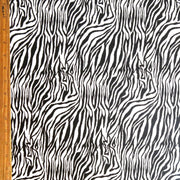 Zebra Nylon Spandex Swimsuit Fabric