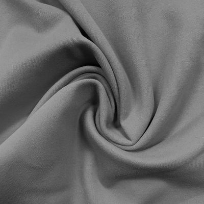 Zen Shade Grey Nylon Spandex Athletic Jersey Knit Fabric
