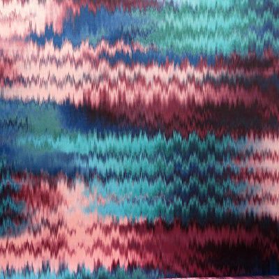 Zig Zag Cools Nylon Spandex Swimsuit Fabric