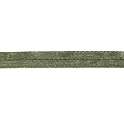 Army Green Fold Over Elastic Trim