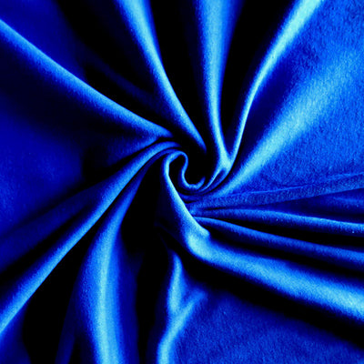 Azure Blue Cotton Interlock Fabric