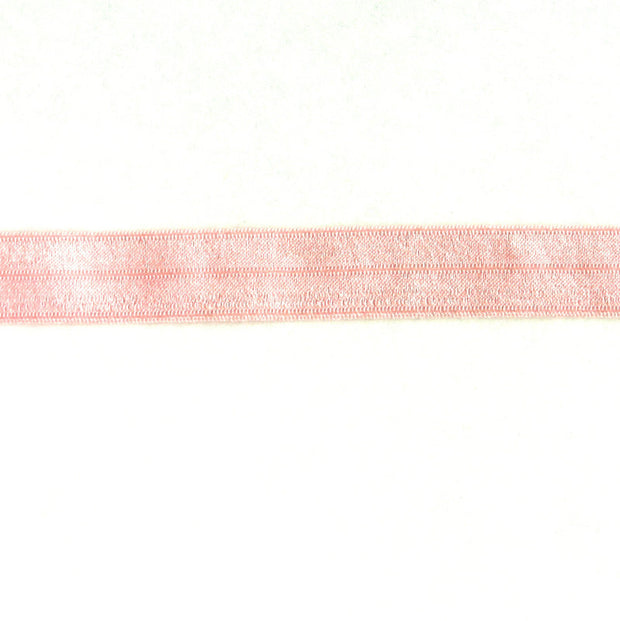 Baby Pink Fold Over Elastic Trim