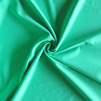 Banana Leaf Green Nylon Spandex Swimsuit Fabric
