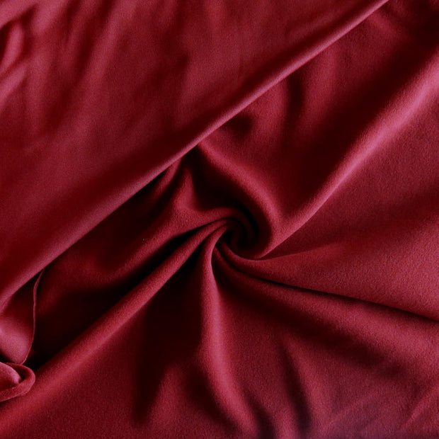 Barn Red Polartec Powerstretch Fleece Knit Fabric