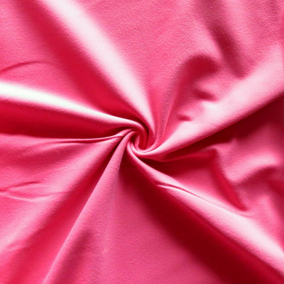 Beyond Pink Swirl Supplex Lycra Jersey Knit Fabric