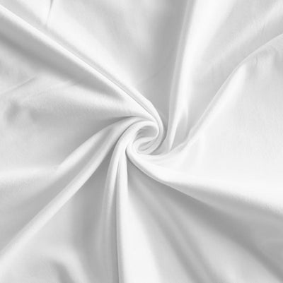 Beyond White Supplex Lycra Jersey Knit Fabric
