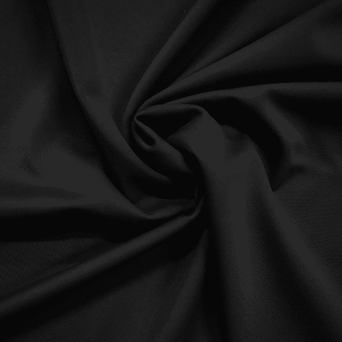 Endurance Black Repreve Recycled Polyester Spandex Knit Fabric