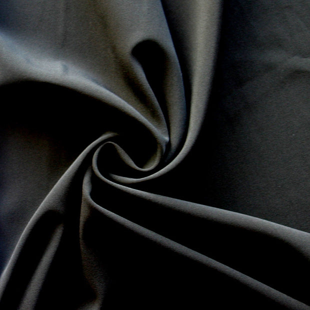 Black Stretch Woven Fabric