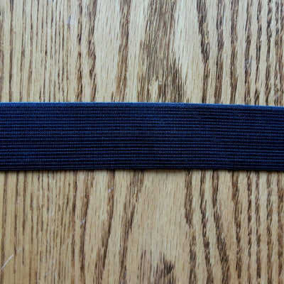 "Black 1.25"" Swimsuit Elastic"