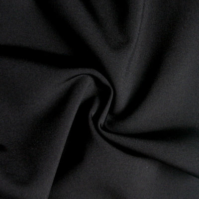 Black Swimsuit Lining Fabric - 15 Yard Bolt
