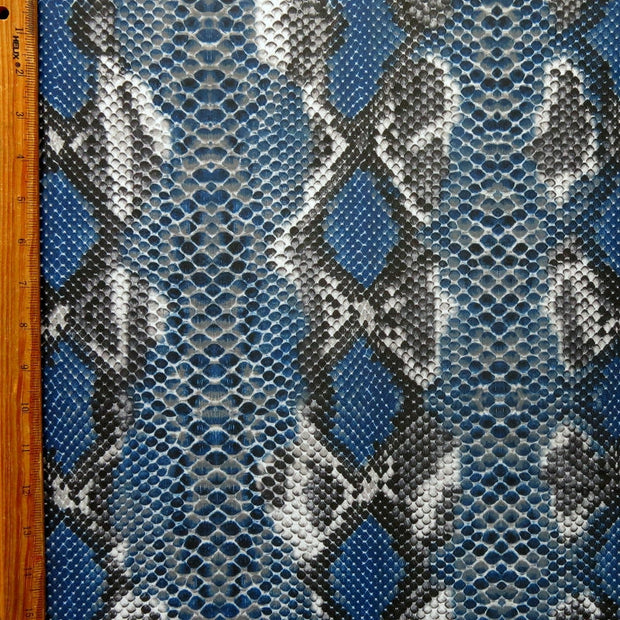 Blue Diamondback Poly Spandex Swimsuit Fabric