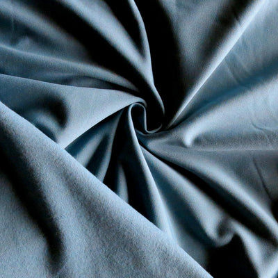 Bluestone Dry-Flex Fleece Back Knit Fabric