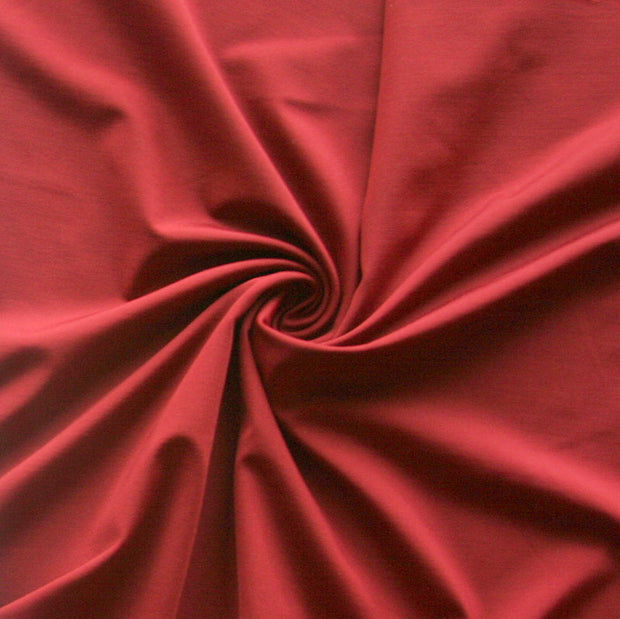 Brick Red Nylon Lycra Swimsuit Fabric