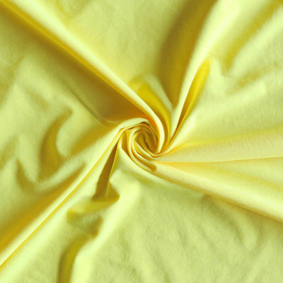 Bright Yellow Dri-Fit Stretch Woven Fabric