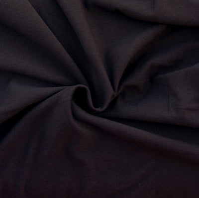 Brown Cotton Lycra Jersey Knit Fabric