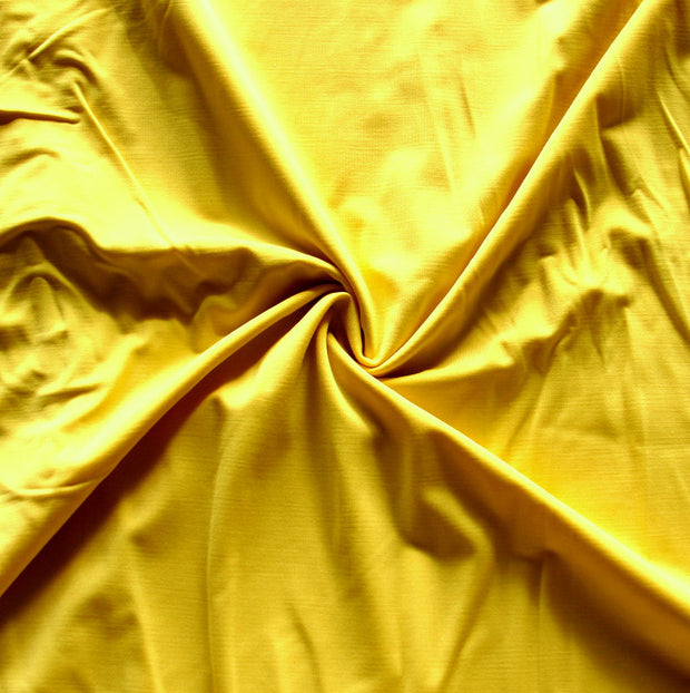 Butter Yellow Nylon Lycra Swimsuit Fabric