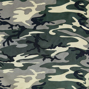 Standard Issue Camo Microfiber Boardshort Fabric
