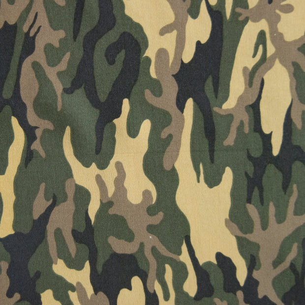Small Standard Issue Camo Microfiber Boardshort Fabric - Seconds - Not Quite Perfect