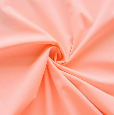 Peach Stretch Woven Fabric