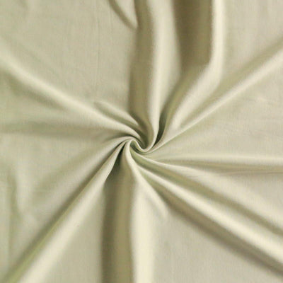 Celery Green Cotton Interlock Fabric