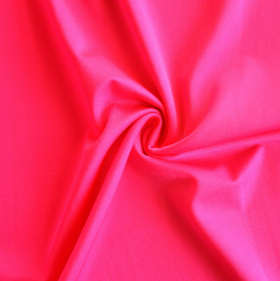 Cerise Solid Nylon Spandex Tricot Specialty Swimsuit Fabric