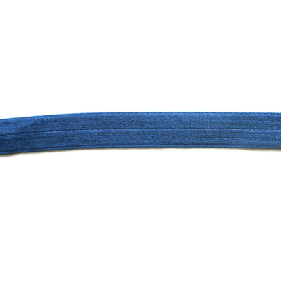 Ceruleun Blue Fold Over Elastic Trim
