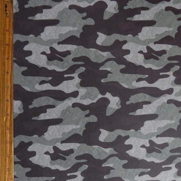 Chevron Camo Nylon Spandex Swimsuit Fabric