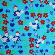 Chicks and Hearts Swimsuit Fabric
