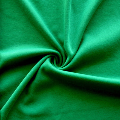 Christmas Green Interlock Fabric
