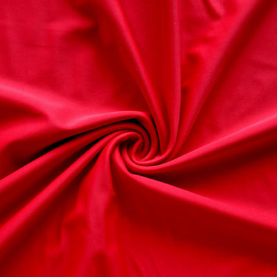 Classic Red Nylon Lycra Swimsuit Fabric