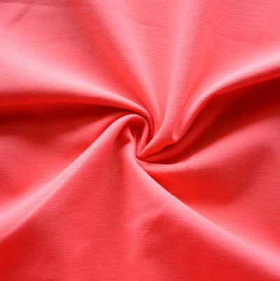 Coral Cotton Lycra Jersey Knit Fabric
