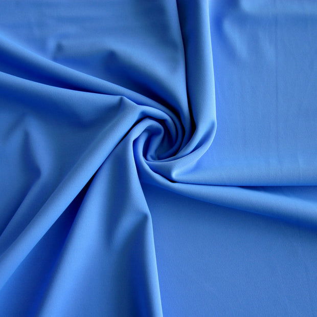 Cornflower Blue Nylon Lycra Swimsuit Fabric by Anita G