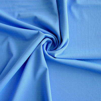 Cornflower Blue Nylon Spandex Swimsuit Fabric