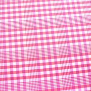 Country Plaid Pink Nylon Lycra Swimsuit Fabric
