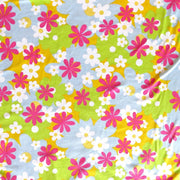 Daisy Delight Cotton Spandex Jersey Knit Fabric