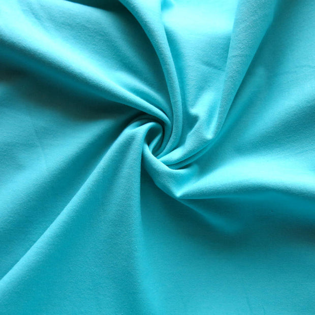 Dark Mint 12 oz. Cotton Lycra Jersey Knit Fabric