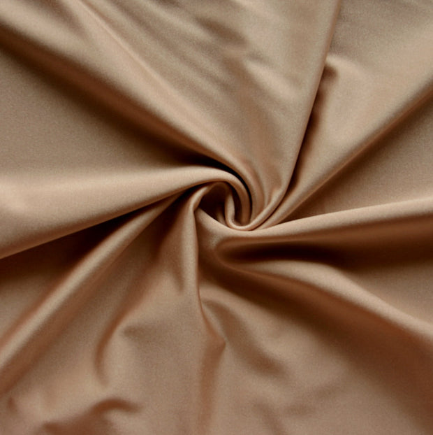 Dark Nude Solid Nylon Spandex Tricot Specialty Swimsuit Fabric