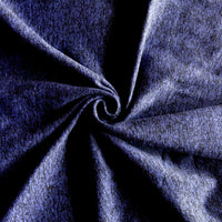 Purple/Black Marl Poly Spandex Jersey Knit Fabric