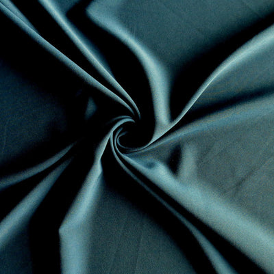 Dark Teal Blue Stretch Woven Fabric