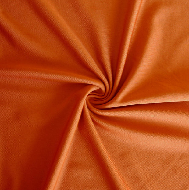 Desert Orange Stretch Series Midweight Lycra Jersey Knit Fabric