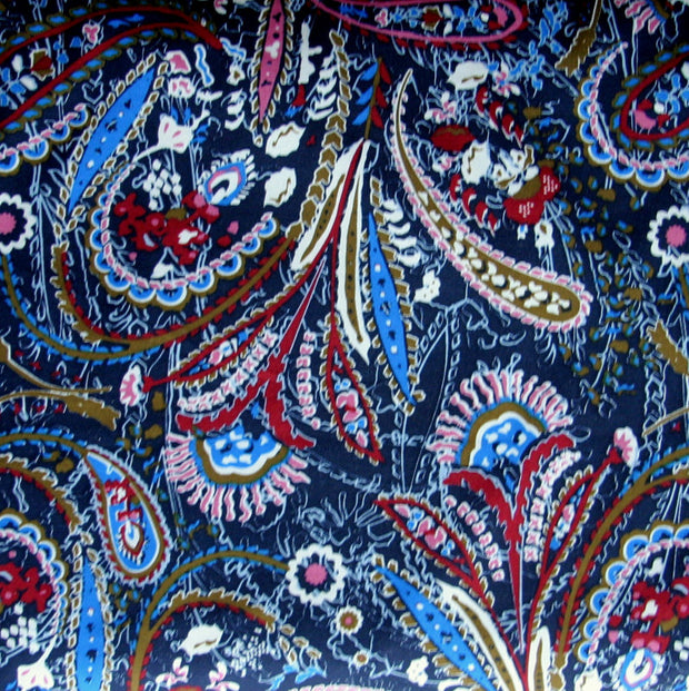 Dirty Martini Paisley Swimsuit Fabric