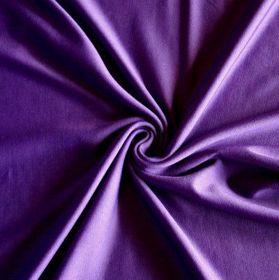 Court Purple Dri-Fit Stretch Series Midweight Lycra Jersey Knit Fabric