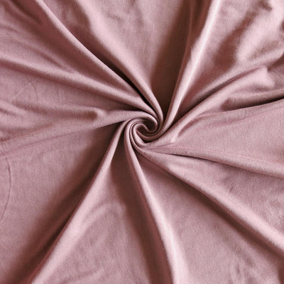 Dusty Mauve Bamboo Lycra Jersey Knit Fabric