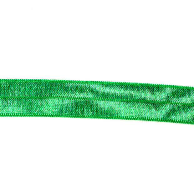 Emerald Green Fold Over Elastic Trim