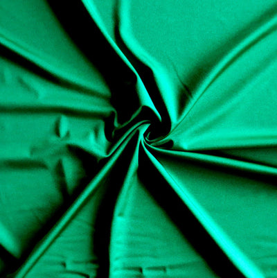 Emerald Solid Nylon Spandex Tricot Specialty Swimsuit Fabric