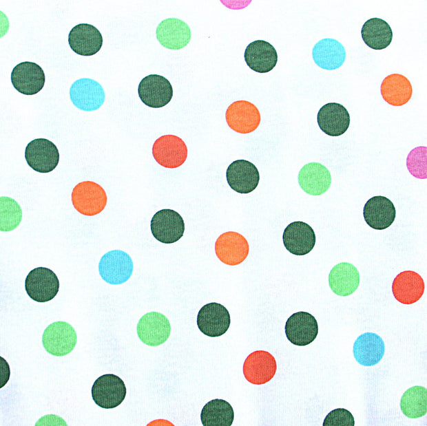 Fizzy Pop Dots Cotton Knit Fabric