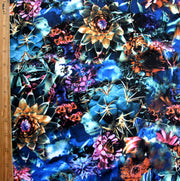 Wildflower Saturation Nylon Lycra Swimsuit Fabric
